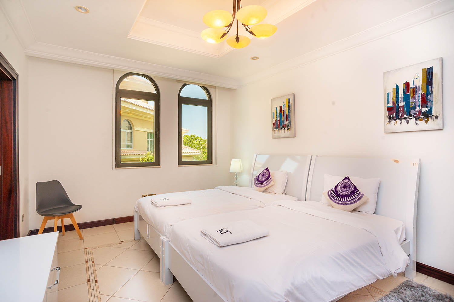 Kennedy Towers Palm Jumeirah Frond P Bedroom 4